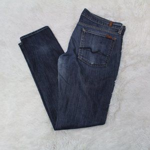 7 for all mankind blue jean sz 32